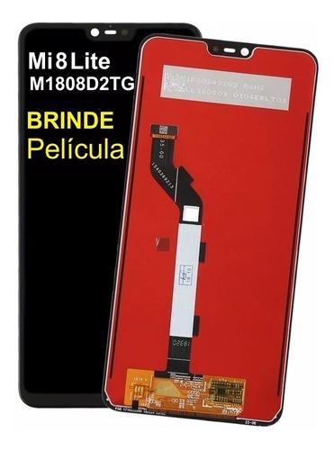 Frontal Tela Display Touch Xiaomi Mi 8 Lite 6.26 Brind Pelic