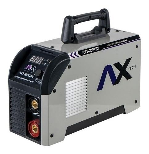 Soldadora Inverter Axtech Axt-202tbv Gris 50hz/60hz 110v/220v