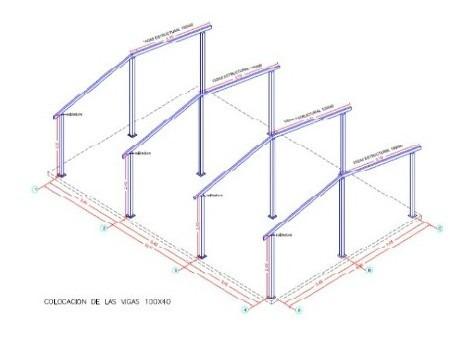 Estructura Metalica Para Vivienda De Una Planta