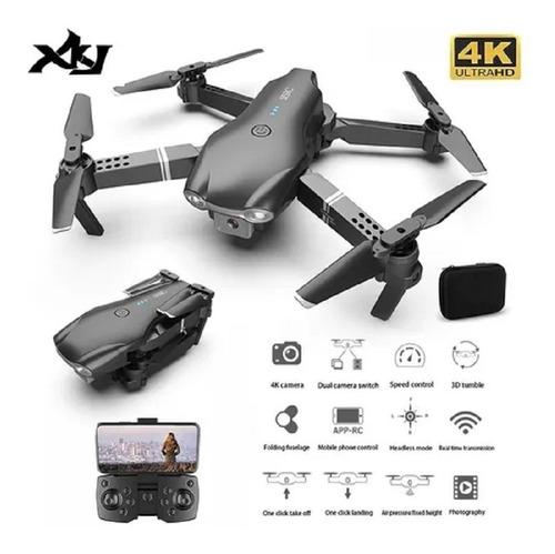 Drone Xkj S602 Rc Hd Câmera Wi-fi + 2 Baterias Fpv