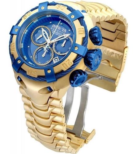 Relógio Invicta Thunderbolt Banhado A Ouro Original Luxo