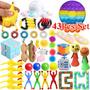 Pop It Fidget Toy 43pcs Conjunto De Brinquedos Sensoriais De