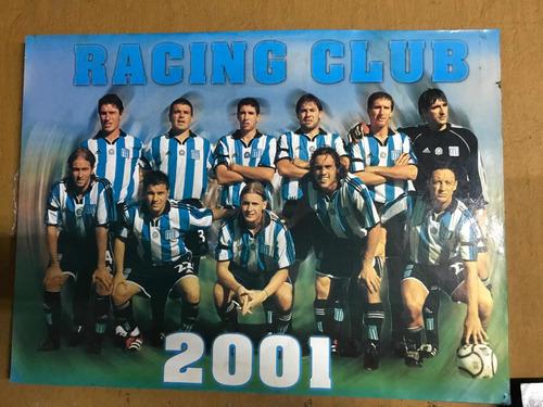 Cuadro Racing 2001 Con Bastidor De Madera