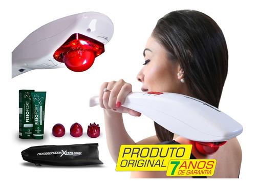 Massageador Elétrico Profissional Infravermelho Original+gel
