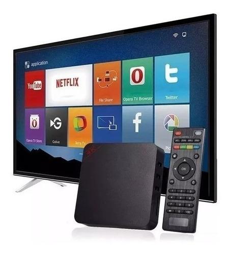 Smart Box Tv Transforme Sua Tv Tubo, Lcd, Led Em Smart Tvbox