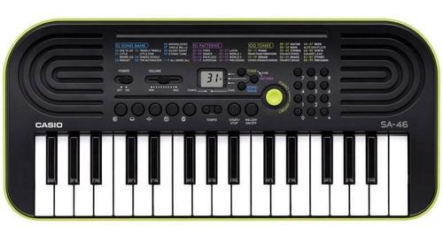 Teclado Digital Casio Sa46 Mini Teclado Infantil Verde