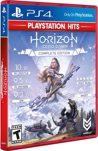 Horizon Zero Dawn Complete Edition Ps4 Juego Fisico Sellado