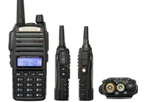 Radio Ht Dual Band Vhf Uhf Baofeng Uv-82 5w De Potência + Nf