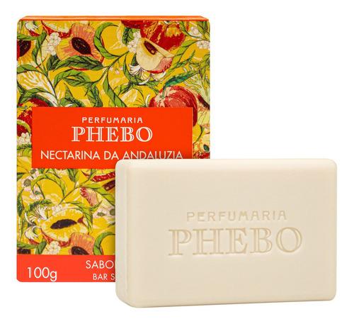 Phebo Mediterrâneo Nectarina Da Andaluzia Sabonete 100g
