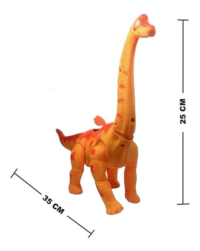 Dinossauro Brinquedo Anda Bota Ovo Som Luz E Movimento