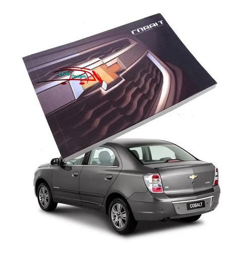 Manual Do Proprietário Chevrolet Original Novo Em Branco