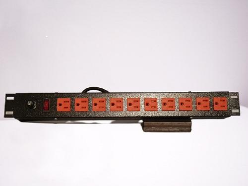 Multitoma Rack De 8salidas