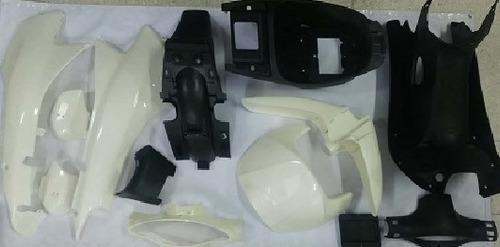 Kit Completo Tapas Tep Honda C100 Biz Para Pintar