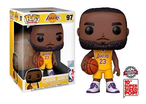 Funko Pop Lebron James #97 - Lakers 10 Polegadas Nba