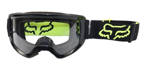 Óculos Fox Main Stray Amarelo Motocross Trilha Donwhill Bike