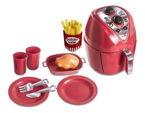 Cozinha Infantil Brinquedo Fritadeira Air Fryer Master Chef