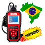 Scanner Automotivo Konnwei Kw850 Obd2 Configura Em Portugues