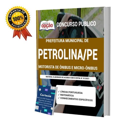Apostila Motorista De Ônibus E Micro ônibus Petrolina Pe