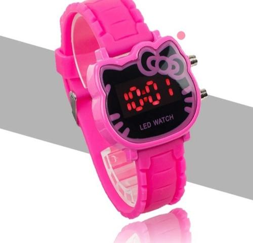 Relógio Infantil Pulso Led Digital Feminino Super Barato