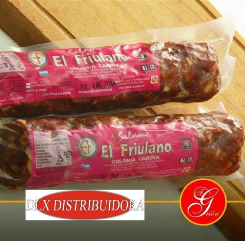Salame Etiqueta Roja El Friulano