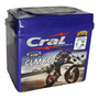Bateria Cral Factor Ybr 125 Crypton Titan Cg Mix Moto 6ah
