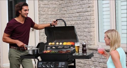 Barbacoa Portatil  A Gas Grill Pro Con Hornalla