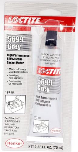Silicon Gris Alta Temperatura Loctite Original Henkel 5699