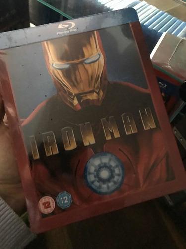 Steelbook Iron Man Exclusive Play Uk Grail Raro Fora De Cata
