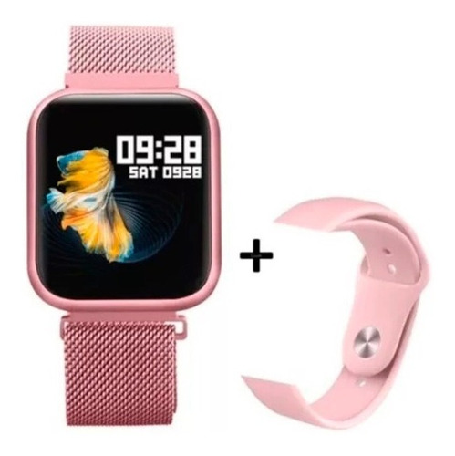 Relogio Smartwatch P80  Com Pulseira De Brinde Oferta