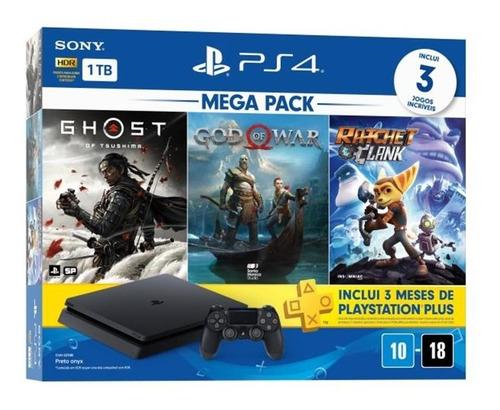 Console Playstation 4 - Mega Pack 18  Playstation