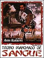 Trono Manchado De Sangue Dvd Original