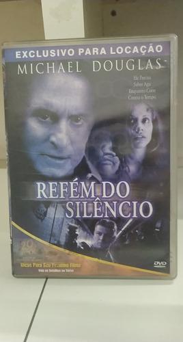 Refém Do Silêncio -michael Douglas -dvd Original