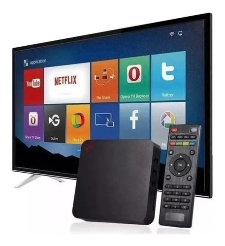 Smart Tv Box Android 4k 5ghz Transforme Sua Tv Em Smart Tv
