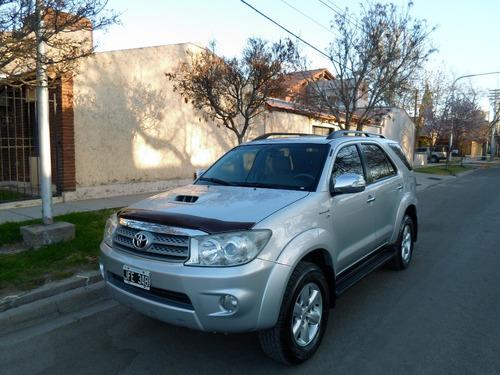 Toyota Hilux Sw4 Año 2010 3.0 Tdi Srv At Cuero (163cv)