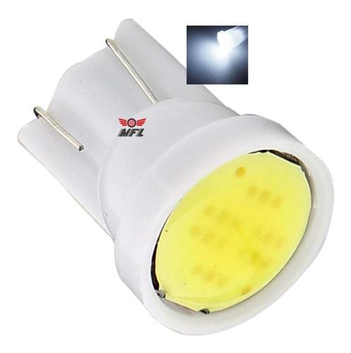 Kit 20 Lampada T10 Cob Led Branca Pingo Luz Atacado