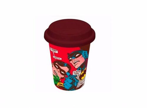 Copo De Cerâmica - Batman & Robin - Dc Comics Original