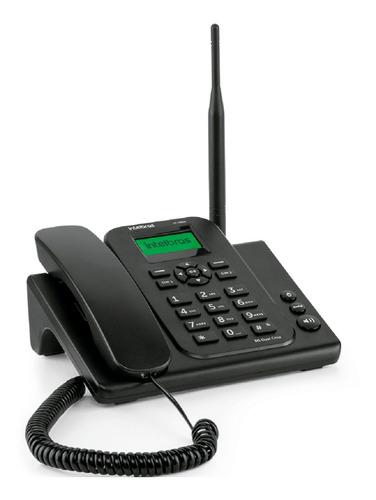 Telefone Celular Fixo Rural Intelbras Gsm 2/chips Cf4202n