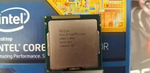 Intel Core I3 3220 Dual Core 3.30ghz Usado Sin Cooler/caja