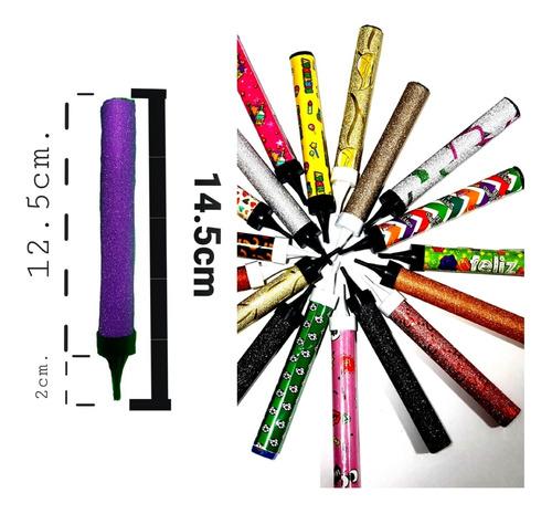 100 Velas Pirotécnica Para Pastel De 13cm Con Gran Duración