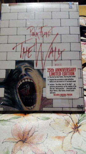 Dvd Pink Floyd The Wall Original