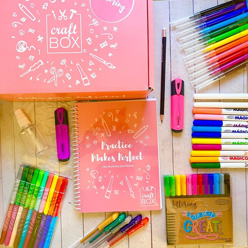 Kit Manualidad Lettering Craftbox