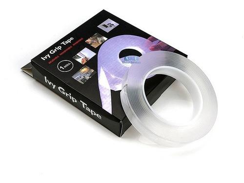 Cinta Adhesiva 5m Doble Contacto Ivy Grip Tape Original