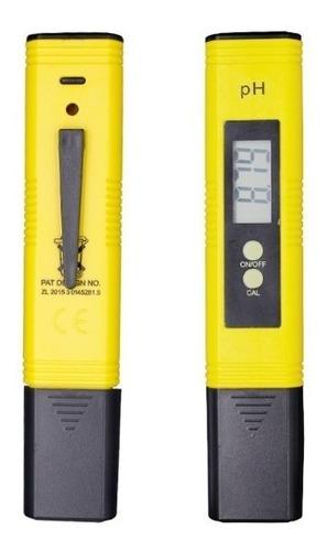 Medidor Ph 0-14 Auto Calibración Precisión Portátil Phmetro