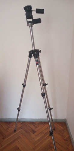 Tripode Profesional Manfrotto Modelo 190 Cabezal 141 Rc