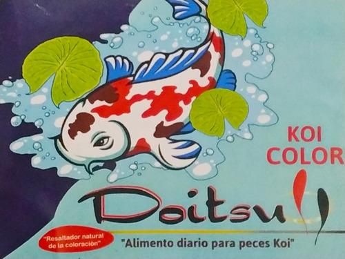 Alimento Doitsu Koi Color Granulos 4 A 6mm 4,5kilos