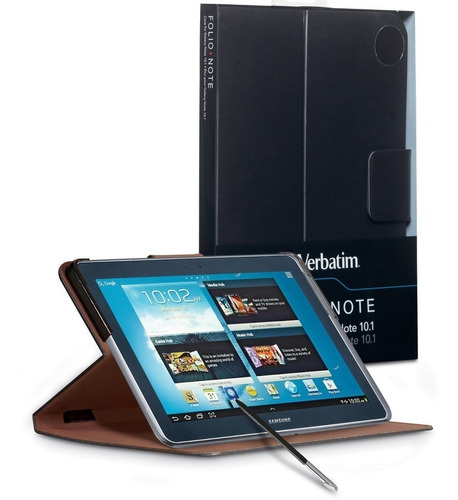 Funda Folio Verbatim Tablet Premium Samsung Galaxy Note 10.1