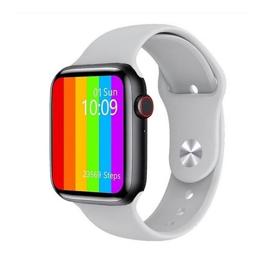 Relogio Smartwatch Inteligentew26 Tela Infinita + Pulseira