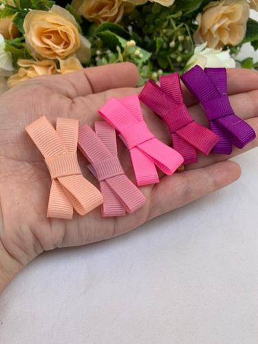 Velcro Mini Laço  Bebê Rn  Kit 10 Pçs