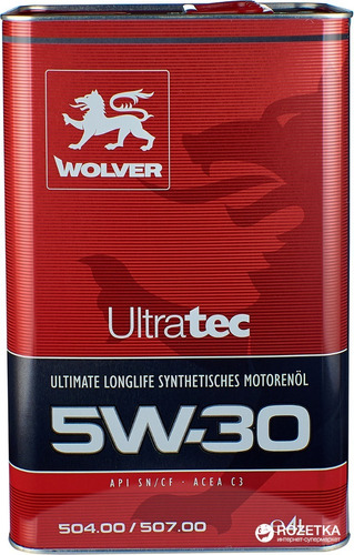 Aceite Motor 5w30 Wolver 100% Alemán Para 20.000 Km