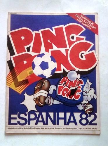 Album Ping Pong 82 Completo Com Figs.  Soltas + Embalagens